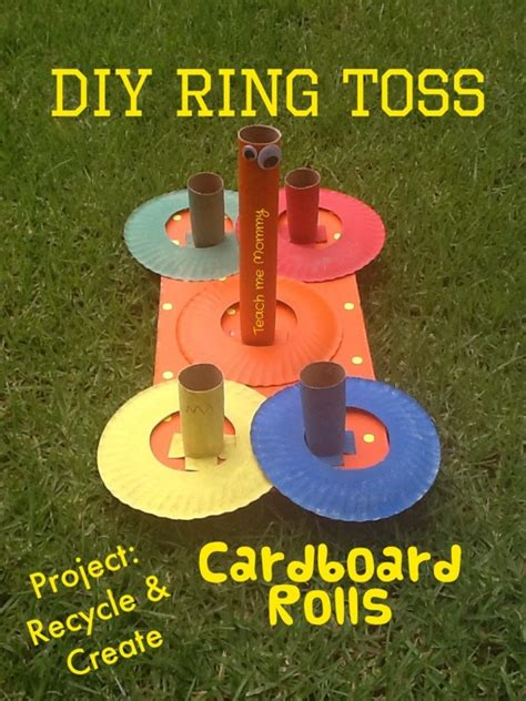 Wrapping Food Gifts - diy ring toss game teach me mommy
