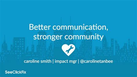 communication stronger community socrata