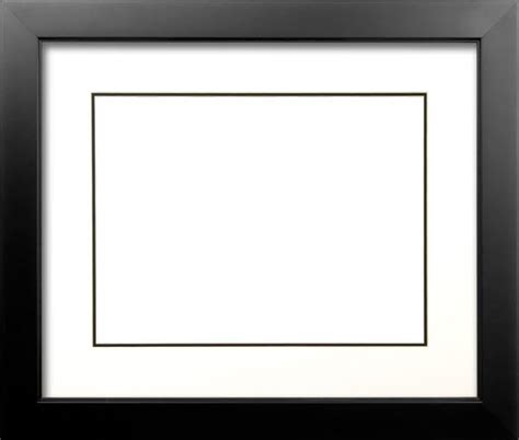 20x30 Matted Picture Frame by Wood Frame For A 20 X 30 Picture Black