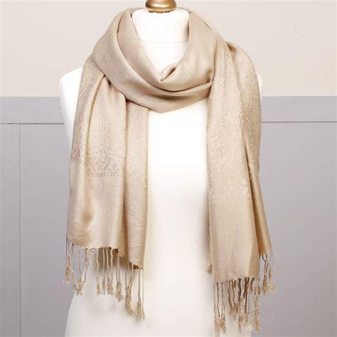 Phasmina Scarf beige pashmina scarf