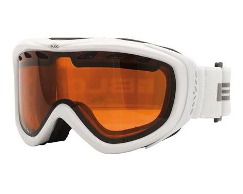 bloc mars ski goggles white rs11 chelston direct
