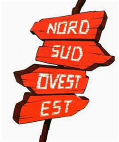 Sud Nord Est Ovest by Righe Libere Nord Sud Ovest Est