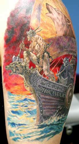 dreamland tattoo viking by myke maldonado tattoonow
