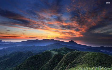 best foto beautiful dusk sky mountains wallpapers beautiful dusk