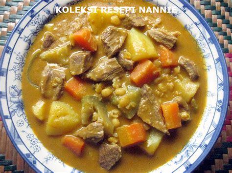 resepi nennie khuzaifah dalca daging