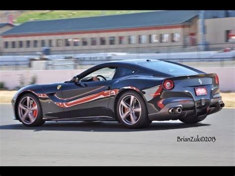 f12 back black f12 berlinetta