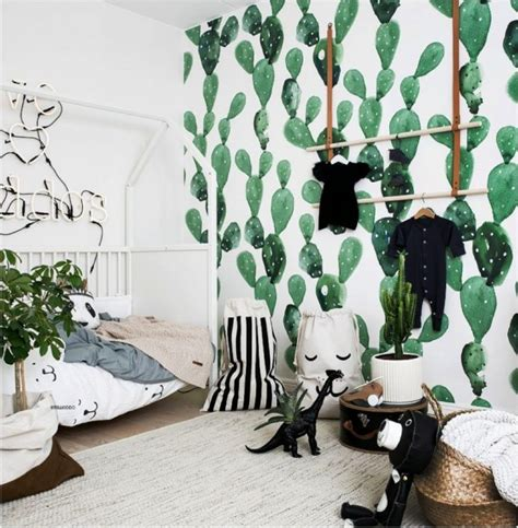 One Bedroom Apartment Nursery Ideas Add A Cactus Chic To Your Room Petit Small