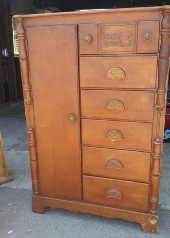 Cedar Lined Dresser by Wardrobe Dresser Cedar Lined Collectors Weekly