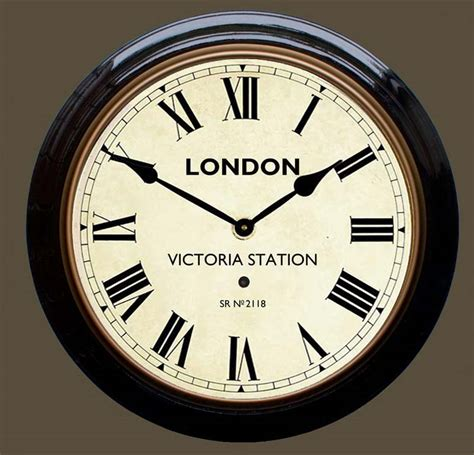 wall clock retro wall clocks station