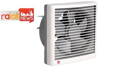 Kipas Kamar Mandi menggunakan exhaust fan sebagai alternatif ventilasi rumah