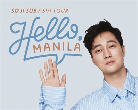 so ji sub fan meeting 2019 manila so ji sub to strike the most memorable quot hello quot to