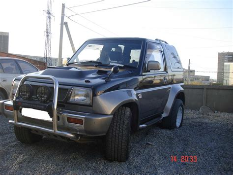 1990 daihatsu rocky 1990 daihatsu rocky photos 1 6 gasoline manual for sale
