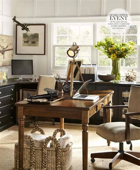 decorating ideas for home office work in coziness 20 farmhouse home office d 233 cor ideas