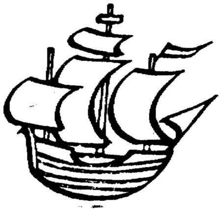 barco animado blanco y negro dibujos para imprimir y colorear barcos para colorear