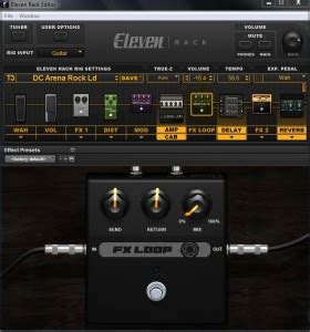 Eleven Rack Bass Presets by Sweetwater Eleven Rack Presets
