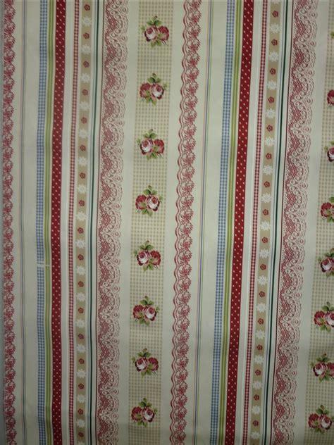 stoffe vorhang deko stoffe gardine vorhang landhaus blumenranke karo