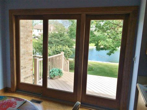 Andersen Sliding Patio Door Doors These Are The 400 Series Sliding Patio Doors With Custom Trim Casing