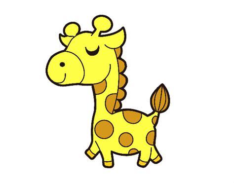 imagenes de jirafas faciles de dibujar dibujo de jirafa presumida pintado por antoymonse en