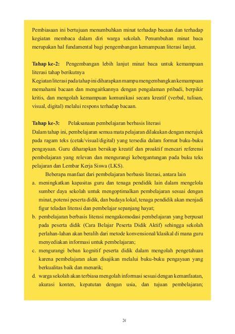format buku verbal layout panduan gerakan literasi sekolah di sekolah dasar