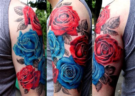 disenos tatuajes de rosas para hombre 30 ideas de tatuajes de rosas de hombre mujer fotos