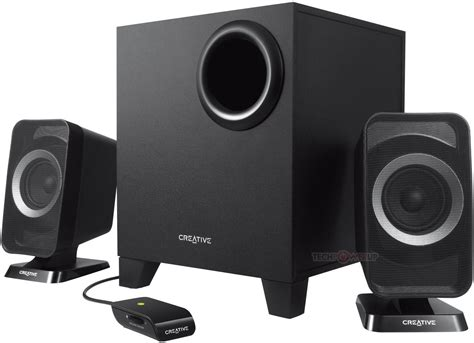 Speaker Wireless Laptop creative announces t3150 wireless 2 1 computer speaker system techpowerup
