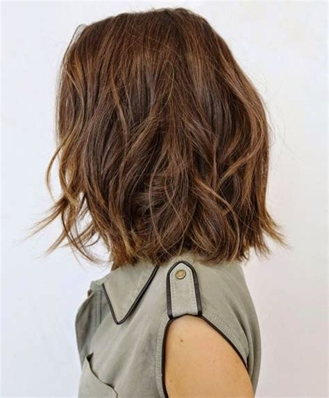 new hairstyles for thin medium length hair big forehead 25 best ideas about shoulder length hairstyles on