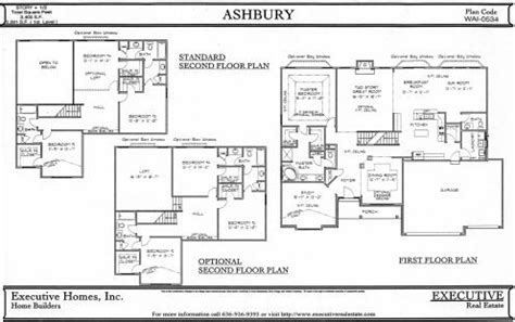 second story floor plans 1 1 2 story floorplans