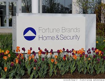 fortune brands home security analyst ratings earnings