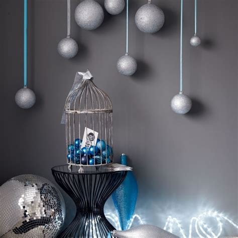 display baubles magical modern christmas decorating