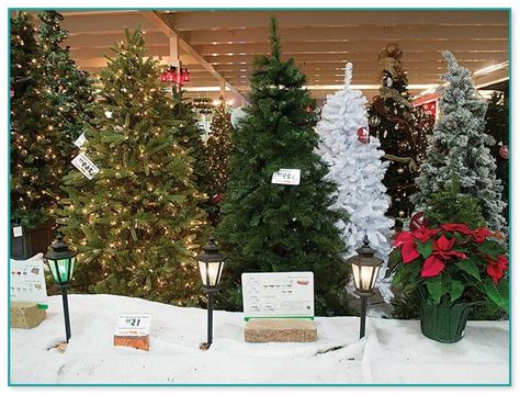 artificial christmas trees on sale at menards best artificial trees menards