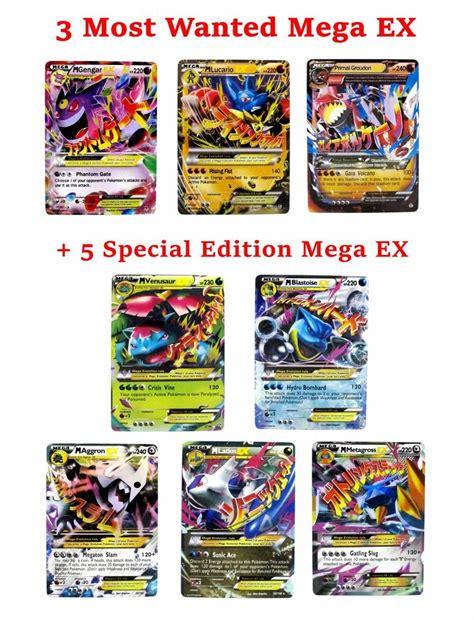 card sets pok 233 mon complete set card mega ex set of 8 cards