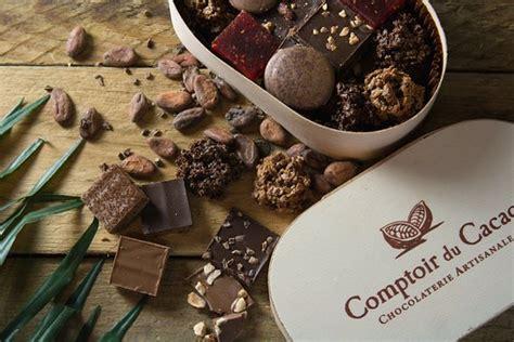 comptoir du cacao chocolaterie artisanale ouverte du lundi au vendredi