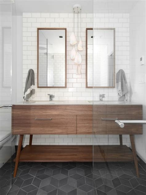 mid century modern bathroom design 35 trendy mid century modern bathrooms to get inspired