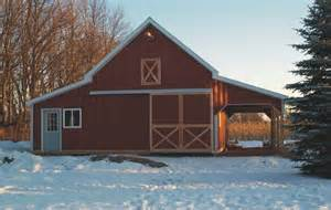 small barn house plans and used a combination of galvalume and wood siding