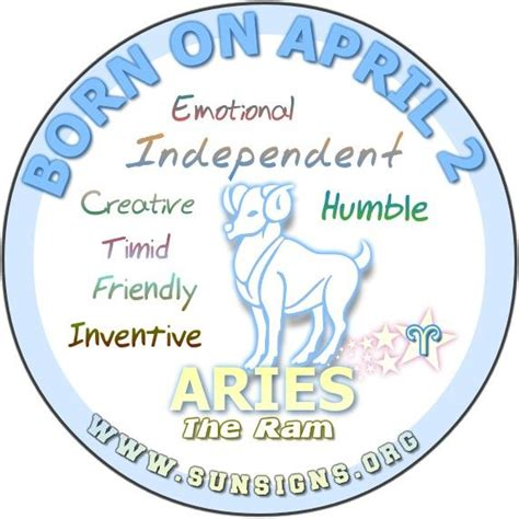 birth date  april      creative  inventive aries