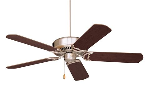 Lighting Direct Ceiling Fans by Emerson Brushed Steel With Cherry Mahogany Blades 5