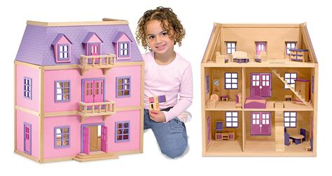 dollhouse 8 year olds doug multi level wooden dollhouse