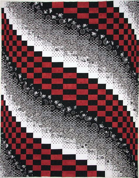 black and white bargello quilt pattern black white red bargello quilt crafting by holiday