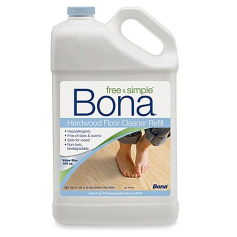 bed bath and beyond carpet cleaner buy bona 174 free simple hardwood floor cleaner in 160