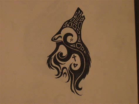 tribal wolf tattoo image result for http fc03 deviantart net fs70 f