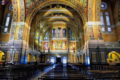 st therese basilica lisieux france lisieux basilica of st therese travel information and