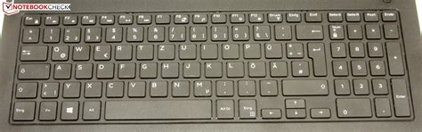 Keyboard Dell Inspiron 3542 dell inspiron 15 3542 2293 notebook review notebookcheck