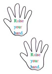 handprint template printable handprint template clipart best