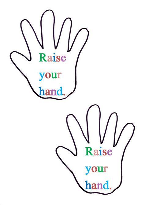 Printable Handprint