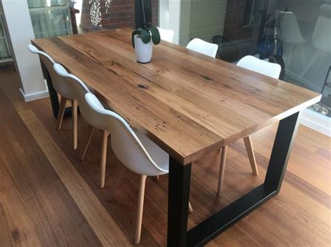 Handmade Timber Furniture Melbourne - timber dining tables time 4 timber
