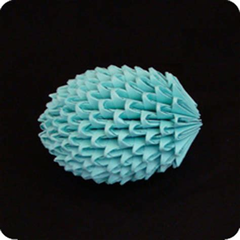 How To Make An Origami Easter Egg - 3d origami egg 3d origami free origamii