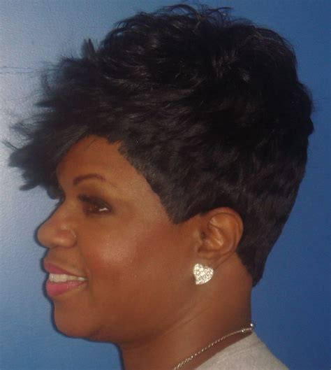 sew in weave short hair atlanta short sew in weave hairstyles for your fusion s
