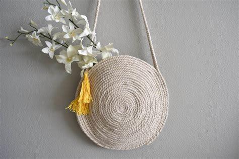 Rope Bag Diy - diy circle rope bag for sewamalfi series thestylesafari