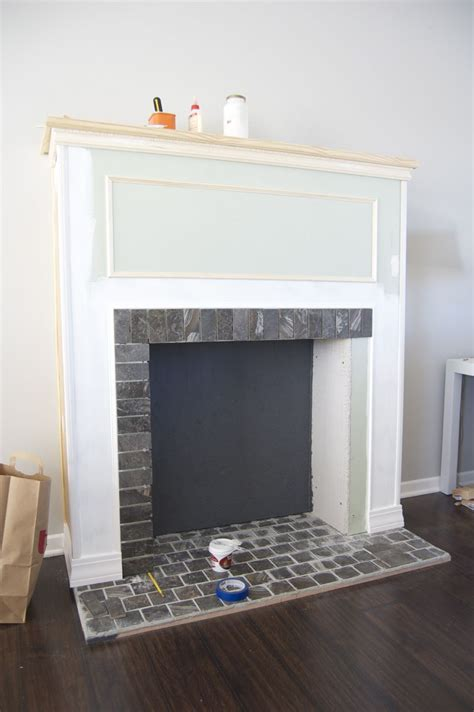 How To Make In A Fireplace how to build a faux fireplace