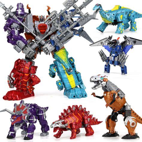 Bricks Robot 4 In 1 Combination Transform Toys Mainan Lb058 aliexpress buy 5 in 1 combination anime